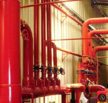 Tubos de Aço para Redes de Incêndio