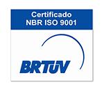 Empresa com certificado NBR ISO 9001