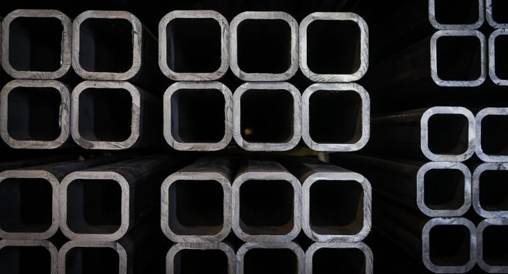 Tubos quadrados